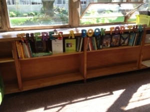 classroom book shelves