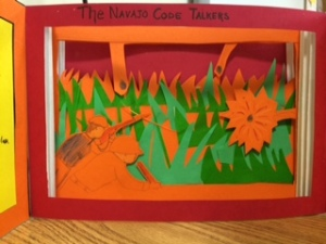 Navajo Code Talkers Tunnel Book