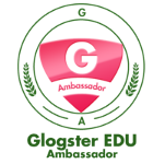 Glogster Ambassador Badge