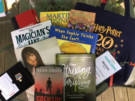 Scholastic Reading Summit Giveaways