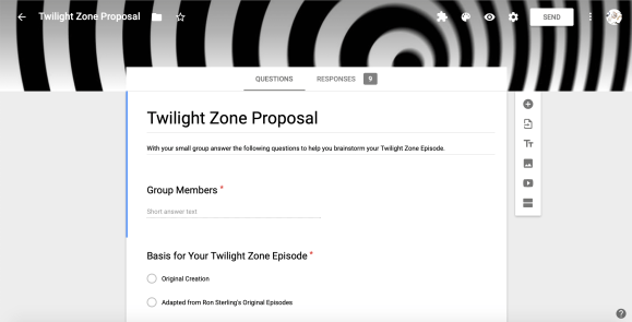 Twilight Zone Proposal