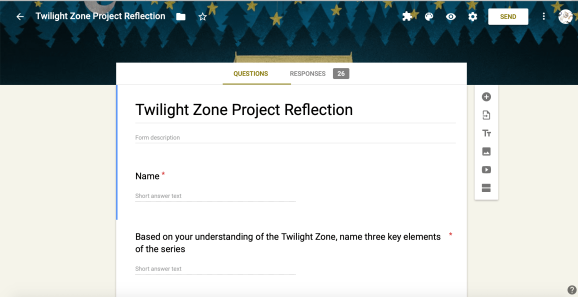 Twilight Zone Project Reflection