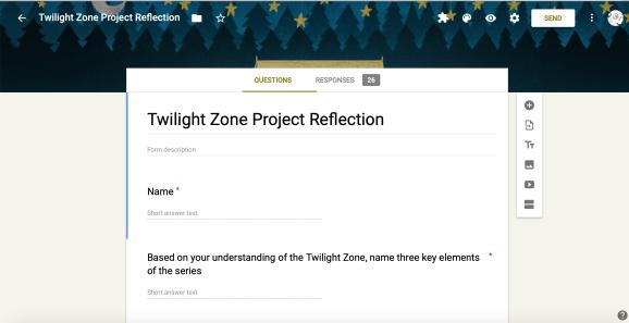 Twilight Zone Project Reflection